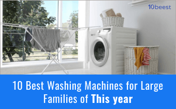 best washing machines for Large families