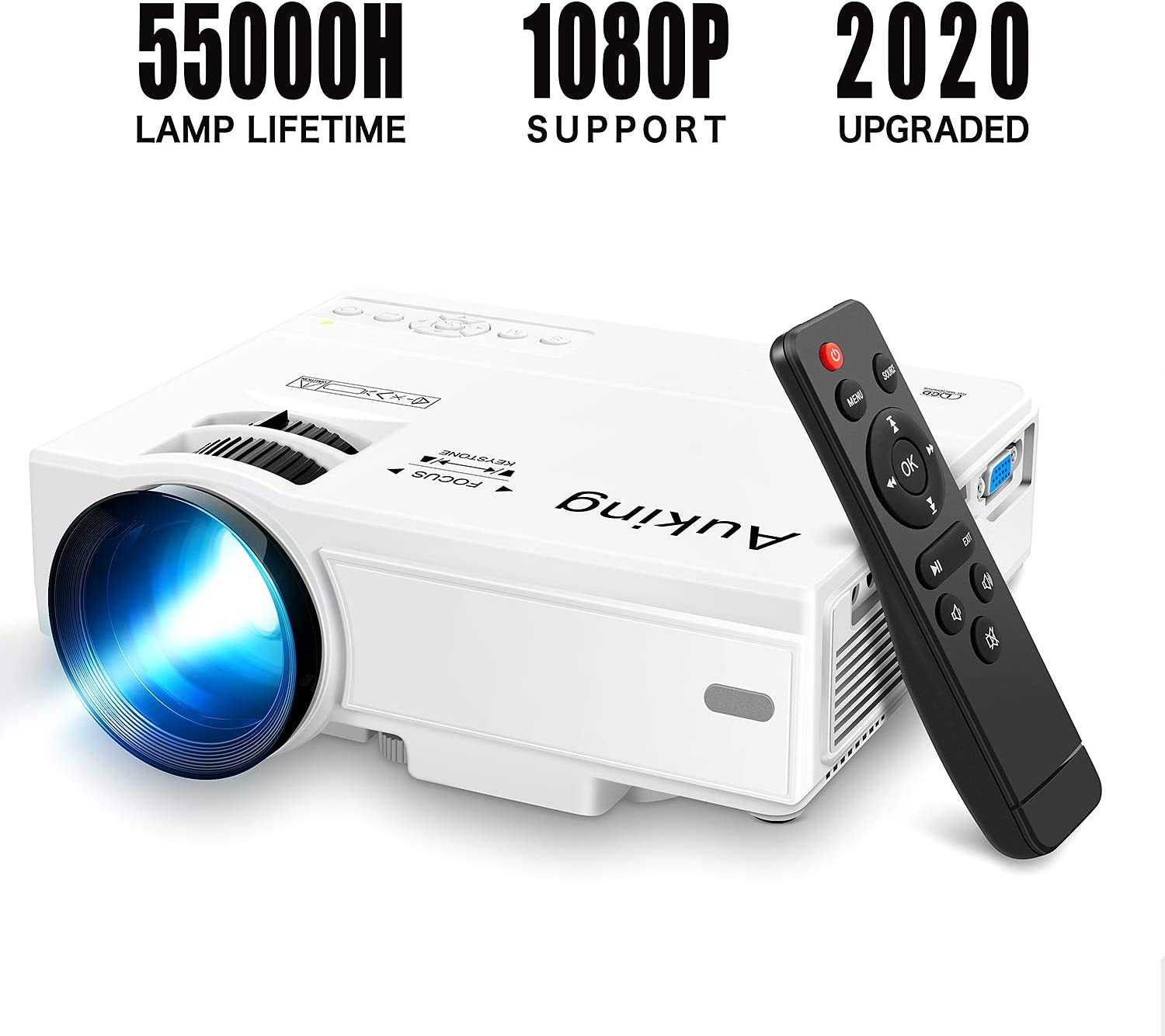 AuKing Bolun Mini Projector